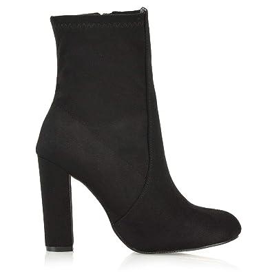 ESSEX ESSEX ESSEX GLAM Damenschuhe Chunky Block High Heel Ankle Stiefel ... 1fa397