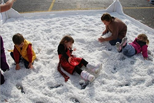 SnoWonder Instant Snow Artificial Snow - Mix Makes 180 Gallons of Fake Snow