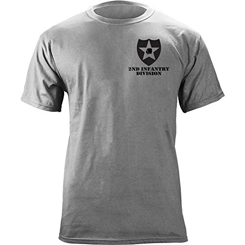 Army 2nd Infantry Division Full Color Veteran T-Shirt