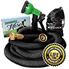 Expandable Hose (50ft) by MrLifeHack - Kink Free Expanding Garden Water Hose
