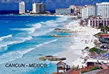 Mexico Mexican Fridge Refrigerator Magnets (12-Pack, Cancun- 9)