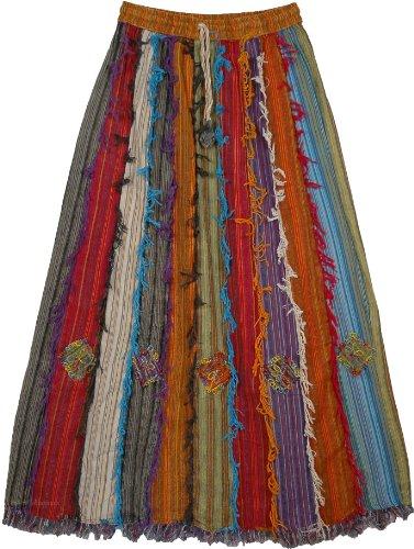 Patchwork Skirt - 4