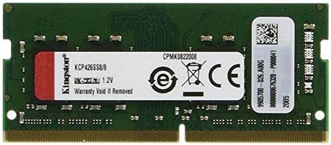 Valueram Kcp426ss8 8 Von Kingston Technology 8gb Computer Zubehör