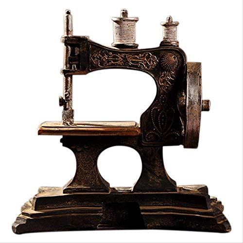 DOUYA Objetos Decoracion Modernos Maquina De Coser De Resina Modelo Adornos Restaurar Formas Antiguas Hacer Bar Antiguo Decoracion del Hogar Manualidades Regalo