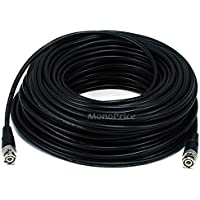 Monoprice 100-Feet RG-58 and Transceiver Cable, Black (106918)