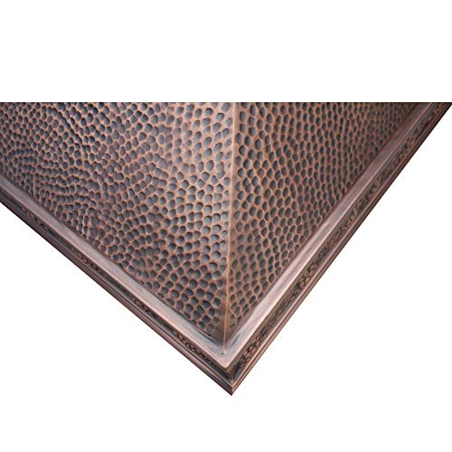 Copper Tailor Copper Range Hood Wall Mount 4 Speed Exhaust