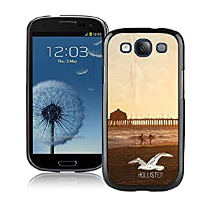 Lovely And Unique Designed Cover Case For Samsung Galaxy S3 I9300 With Hollister 12 Black Phone Case