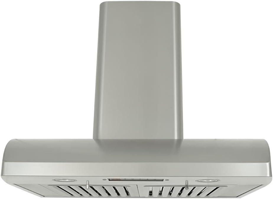 Kobe gama campanas ch2230sqb-wm-1 Premium soporte de pared para gama capucha, 720 CFM, acero inoxidable, luces LED, 30