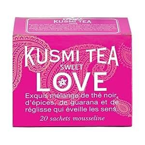 Kusmi Sweet Love Tea (20 Tea Bags)