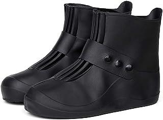 Mixpring Couvre-Chaussures imperméable, Chaussures, Housse de Pluie épaissir antidérapante réutilisable Lavable pour Les activités de Course à Pied pour Femme ou Homme, S: 5-5.5