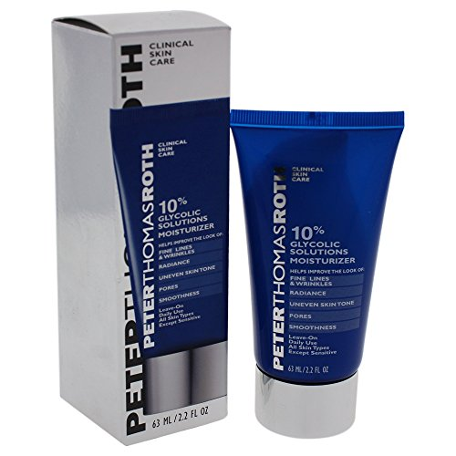 Peter Thomas Roth 10% Glycolic Solutions Moisturizer, 2.2 Fluid (Glycolic Solution)