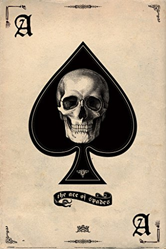 (Ace of Spades Card Gaming Poster 12x18 inch)