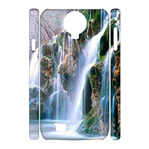 ALICASE Diy Case Waterfall Cover For Samsung Galaxy S4 i9500 [Pattern-1] by lolosakes