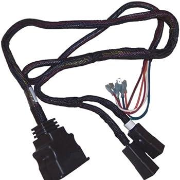 amazon.com: snow plow wiring harness repair kit (plow side ... boss snow plow lights wiring harness to blizzard snow plow headlight wiring harness #10