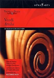 Verdi - Attila / Ramey, Studer, Zancanaro, Kaludov, Gavazzi, Muti, La Scala Opera