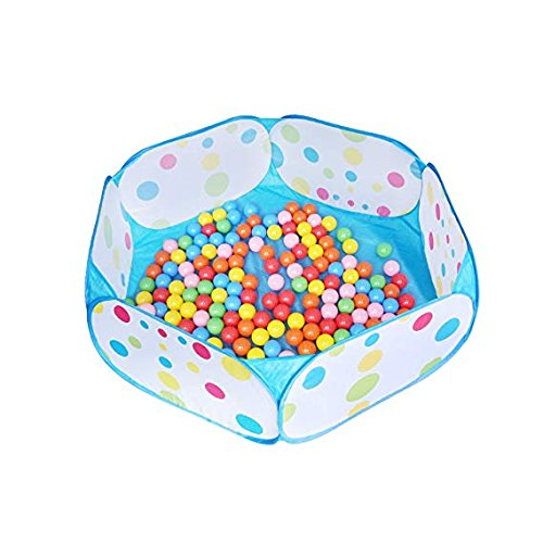 freecorner Kids Ball Pit, Large Pop Up Toddler Ball Pits Tent for Toddlers, Children for Indoor Outdoor Baby Ball Pool Playpen with Zipper Storage Bag, Balls Not Included