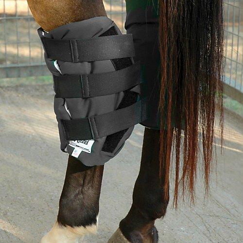 Cashel Boomers Hock Sock Bandage Leg Wrap for Horse Black by Cashel (Image #1)
