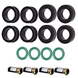 New Fuel Injector Service Repair Kit Seals Filters O-rings for TURBO 4G36T DSM CSKDO14