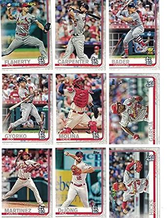 St Louis Cardinalscomplete 2019 Topps Series 1 Baseball