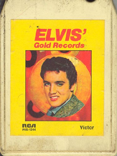 Elvis Track - Elvis Presley: Elvis' Gold Records 8 track tape