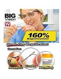 TCI imports Lentes big vision, gafas tipo lupa, anteojos con aumento 160%