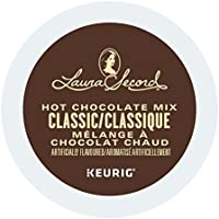 Laura Secord Hot Chocolate Single Serve Keurig Certified K-Cup pods for Keurig brewers, 12 Count