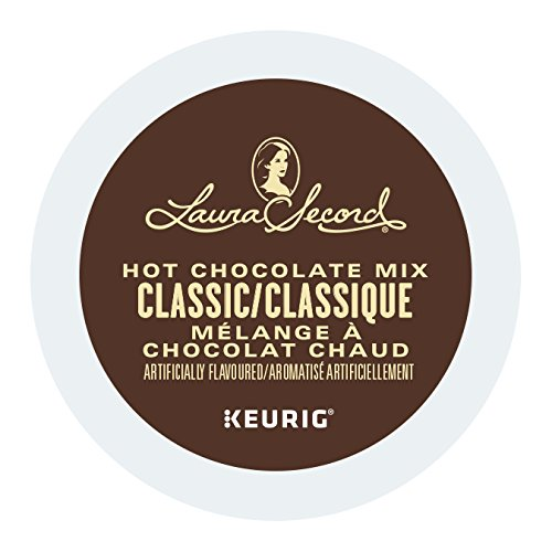 Laura Secord Hot Chocolate Mix K-Cups for Keurig Brewers, 24Count