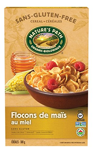 Nature's Path Organic Honey'd Corn Flakes Cereal, 10.6 oz