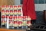 SpiceStor Organizer Spice Rack 20 Clip, 10 x 5