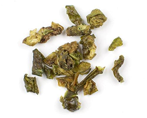 Organic Diced Green Bell Pepper, 1/4
