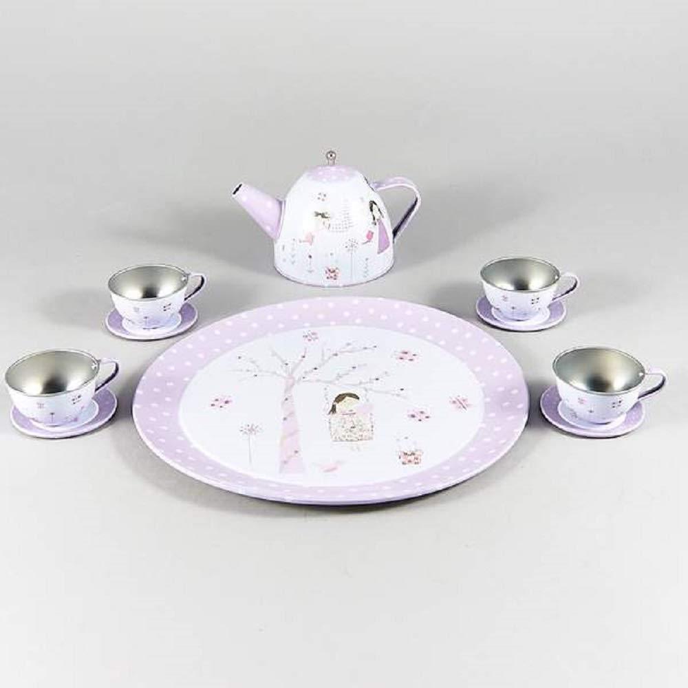 Floss /& Rock 11 Piece Tea Tin Set Fairies Blossom