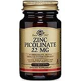 Solgar Zinc Picolinate Tablets, 22 Mg, 100 Count