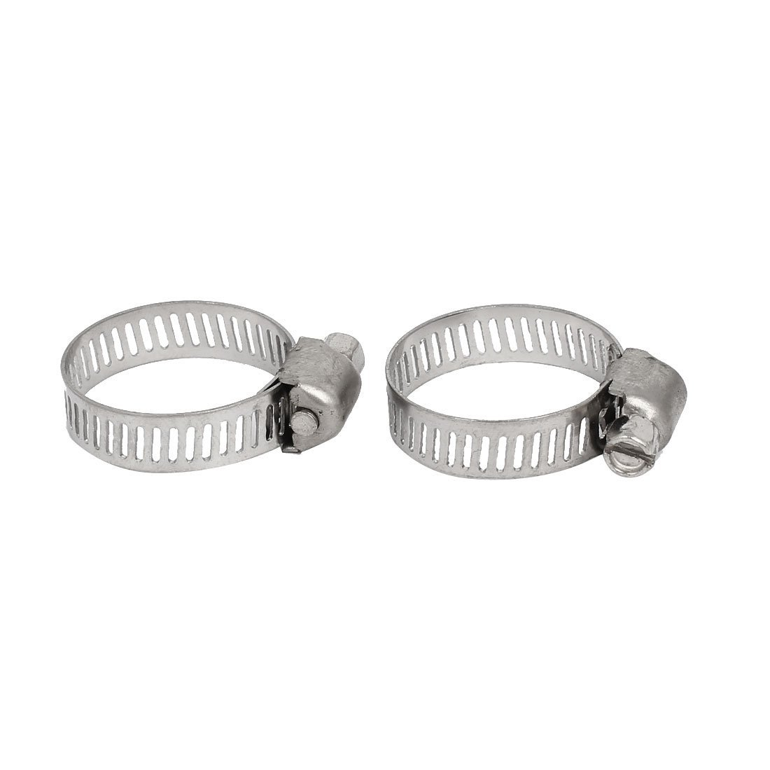 Hindi Kinakalawang Na Asero Adjustable Cable Masikip Worm EbuyChX 16-25mm Gear Hose Clamps 100pcs