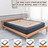Twin Six Premium Box Spring Cover Update Bed Skirt
