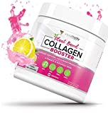 Plant Based Collagen Powder - Vegan Collagen Supplement with Hyaluronic Acid & Camu Camu - Supports Natural Collagen Production - Skin Hydration & Complexion, Hair, Nails & Joint Support - 30 Servings