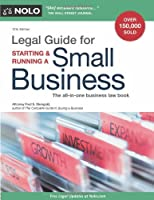 Legal Guide for Starting & Running a Small Business, 12th Edition Front Cover