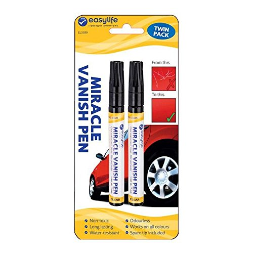 Price comparison product image Miracle Vanish Pen Twin Pack Clear Coat Surface Scratch Repair