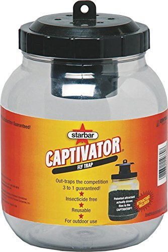Farnam Home and Garden 14680 Starbar Captivator Fly Trap, (1.06 ounces or 30 grams) (2) by Farnam
