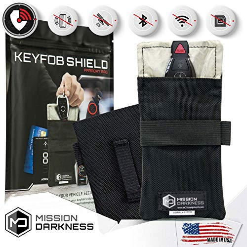 Mission Darkness Faraday Bag for Keyfobs - 5th Gen Shielding for Law Enforcement and Military: Amazon.es: Electrónica