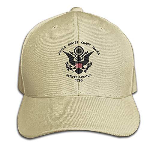 United States Coast Guard 1790 100% Cotton Hat Men Women Adjustable Baseball Cap Solid Color Cap Golf Cap
