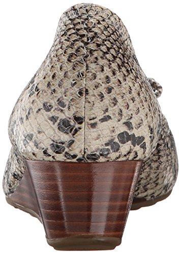 Cole Haan Kvinna Tali Grand Spets Wedge 40 Pump Sahara Orm Print