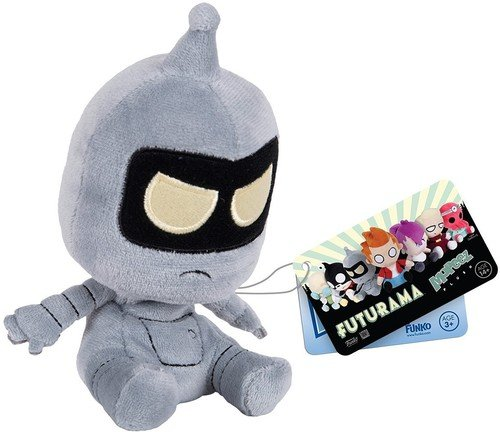 Shiny Bender Robot - Funko Mopeez: Futurama - Bender Plush