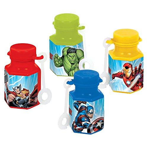 Marvel Epic Avengers Mini Bubbles, Party Favor -
