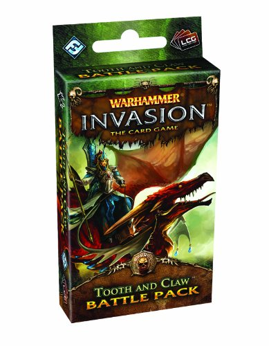 Fantasy Flight Games Warhammer Invasion: The Card Game - Tooth and Claw Battle (Card Claw)