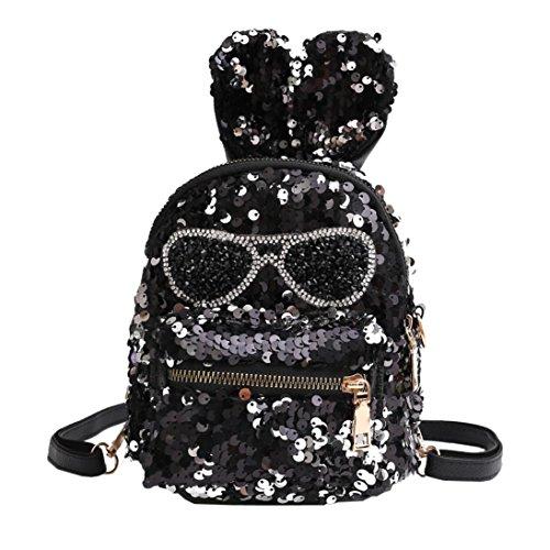 Shoulder Backpacks Crossbody 2018 Bag Zha Student School Sequins Coin Girls Bag Designer Children Purse Ba Bag Handbags Backpack Black Satchel Bag Travel Fashion Ladies Clutch Bags Bags qwcpnWYOB
