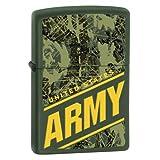 Zippo Military Green Pocket Lighter