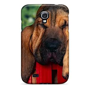 Cute Tpu Cynthaskey Animals Bloodhound Case Cover For Galaxy S4