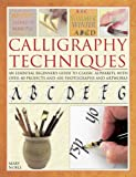 Calligraphy Techniques, Mary Noble, 0754827143