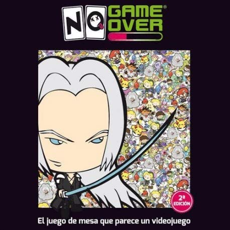 No Game Over- Juego de Cartas, Multicolor (0701197944466): Amazon ...