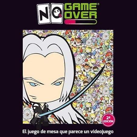 No Game Over- Juego de Cartas, Multicolor (0701197944466)